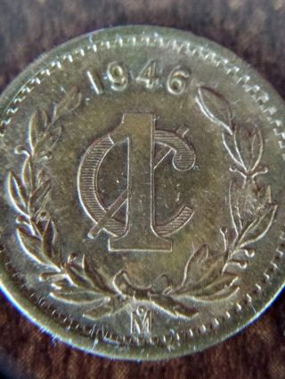 Mexico - 1946 1 Centavo,  1936 10 Centavos And 1944,  1957 20 Centavos photo