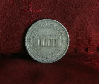 1989 50 Pesos Colombia World Coin Km272 National Constitution South America photo