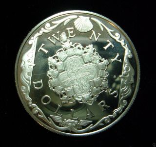 British Virgin Islands   Dollars Silver Proof