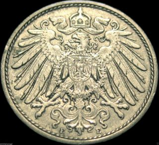 ♡ Germany - German Empire - German 1912e 10 Pfennig Coin - Rare Coin photo