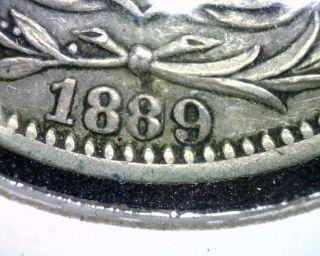 1889/9 - Heaton Costa Rica 25 Centavos Coin,  Xf,  Km 130,  Silver photo