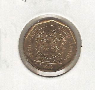 South Africa 10 Cents,  1993 photo
