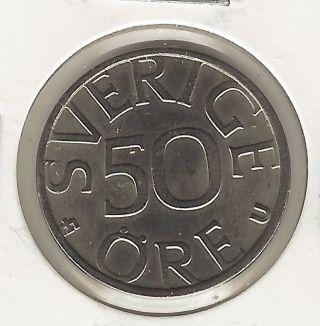 Sweden 50 Ore,  1985 photo