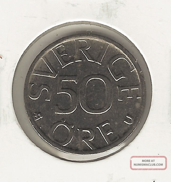 Sweden 50 Ore,  1977 Europe photo