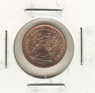 South Africa Cent,  1993 photo