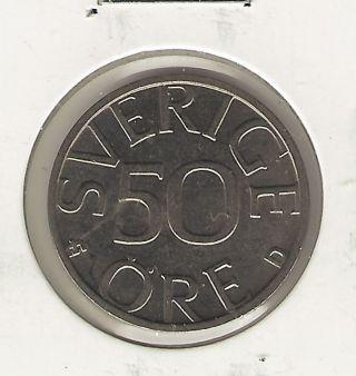 Sweden 50 Ore,  1990 photo