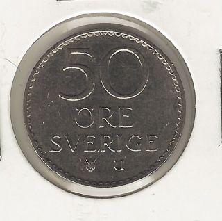 Sweden 50 Ore,  1973 photo