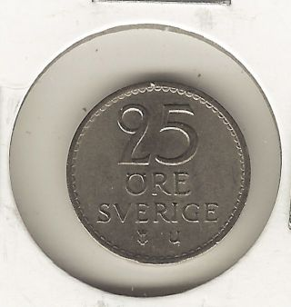 Sweden 25 Ore,  1970 photo
