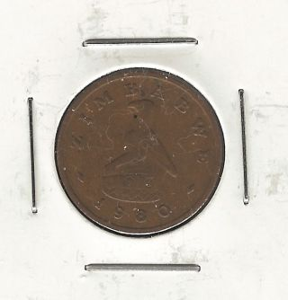 Zimbabwe Cent,  1980 photo