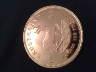 Antique Gold Coin 1983 South Africa 1oz Krugerrand In Excelent photo