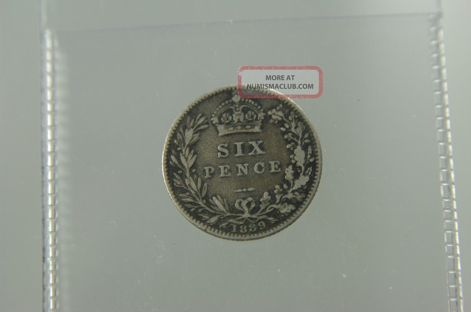 Victoria1889 Six Pence Uk Coin UK (Great Britain) photo
