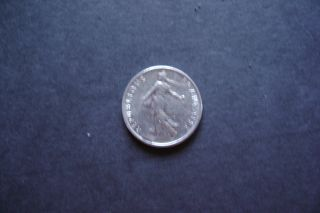 France1973 - ½ Franc - Very Fine photo