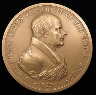U.  S.  Medal No.  106 President John Quincy Adams 3