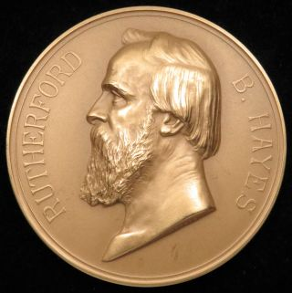 U.  S.  Medal No.  119 President Rutherford B.  Hayes 3