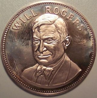 Will Rogers - Gallery Of Great Americans 1970 - Franklin photo