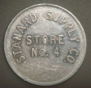 Standard Supply Co.  Store No.  4,  1.  00 (shinnston,  W.  Va. ) photo