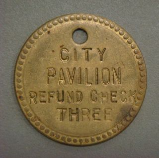 City Pavilion Refund Check Three photo