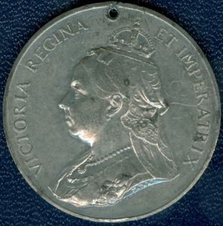 1897 Queen Victoria Sixty Year Jubilee Celebration Medal, photo