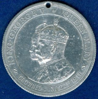 1911 King George V Coronation Commemorative Medal, photo