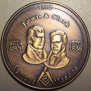1995 Lewis & Clark Famous Masons photo