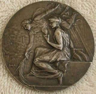 City Of Thionville Exposition Medal,  1934 By Henry Dropsy photo