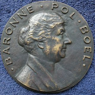 Belgium.  Baroness Pol Boel Medallion,  1950 By J.  Souweine photo