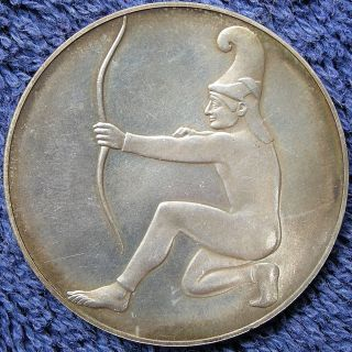 Munich Olympic Games,  Xx Olympiad,  Organizing Committee Medal,  1972 photo