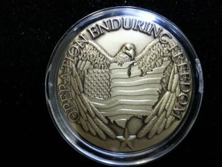 Operation Enduring Freedom United States Bronze Medal Slg143 photo