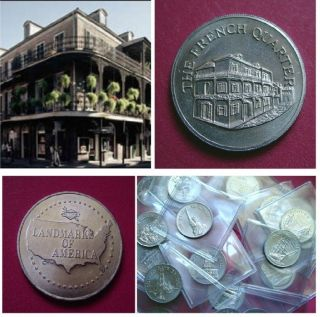 French Quarter - Landmarks Of America Coin - Medal photo