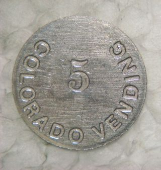 Colorado Vending 5,  25 ( (employee Token,  Denver,  Col. ) photo