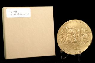 U.  S.  Medal No.  721 U.  S.  Bicentennial 1792 - 1992 3