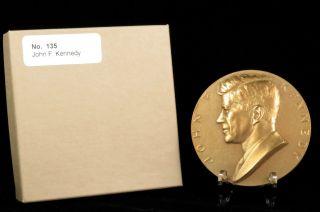 U.  S.  Medal No.  135 President John F.  Kennedy 3