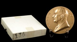 Us Medal No.  136 President Lyndon B.  Johnson 1st Term 3