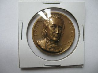 John Tyler Presidential Bronze Medal photo