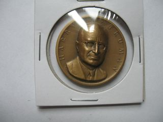 Harry Truman Presidential Bronze Medal photo
