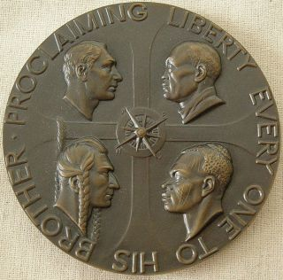 Society Of Medalists Issue No.  51,  1955 By Malvina Hoffman