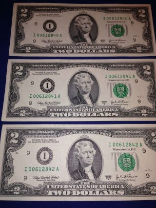 2003 $1 Federal Reserve Note Chicago District 3 Digit Serial Number PCGS 66PPQ