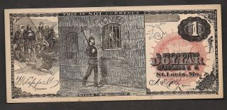 $1=proof=obsolete=st.  Louis=prison Guard=landing Of Colombus=lippell And Colby photo