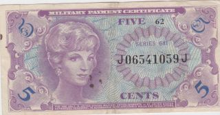 Mpc 5 &10 Cents And $1 Vietnam 641 Series photo