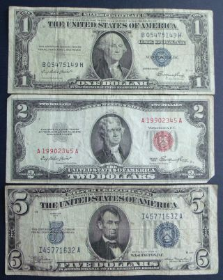 Paper Money: US - Small Size Notes - United States Notes - Price and ...