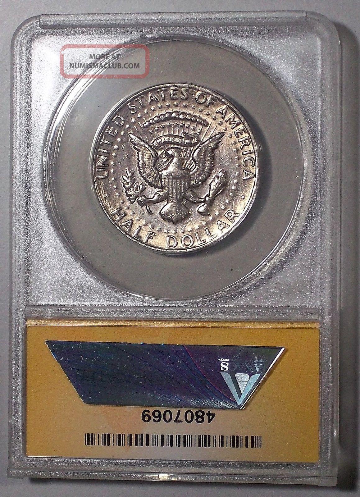 1972 D No Fg Kennedy Half Dollar No Fg Fs 901 Anacs