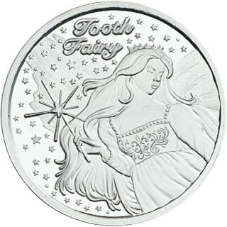 Tooth Fairy 1oz.  Fine Silver 2014 photo
