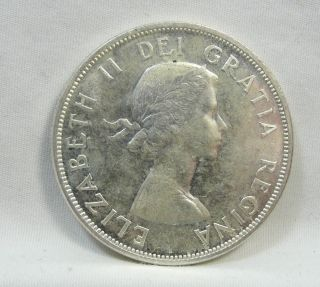 1958 S$1 Canada Dollar,  British Columbia Commemorative,  Unc,  4753 photo