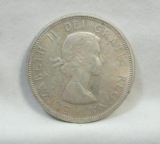 1964 S$1 Canada Dollar,  Confederation Commemorative,  Silver,  Unc,  4771 photo