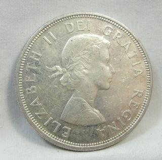1964 S$1 Canada Dollar,  Confederation Commemorative,  Silver,  Unc,  4761 photo