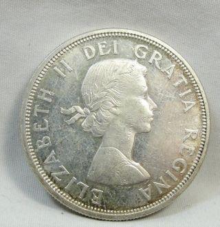 1964 S$1 Canada Dollar,  Confederation Commemorative,  Silver,  Unc,  4769 photo