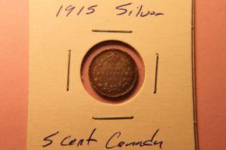 1915 5c Canada 5 Cents Xfine++++ photo
