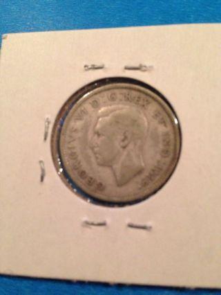 1943 Canada 25 Cents photo
