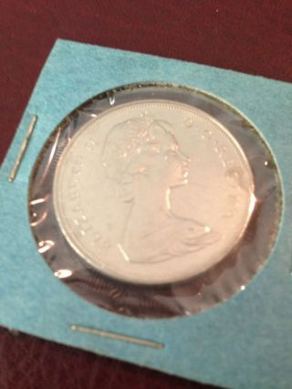 1970 Canada Dollar Bu photo