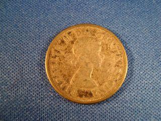 1957 Canada 25 Cents photo